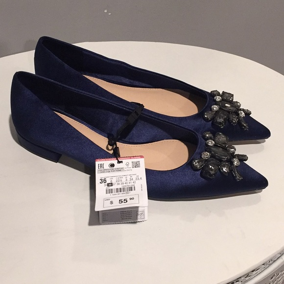 108270007b0 Zara Shoes | Sale Nwt Blue | Poshmark